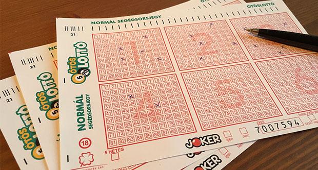 ötös lottó szelvény